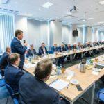 Z konferencji w PIT-RADWAR z udziałem Ministra Obrony Narodowej – Warszawa 29.08.2018