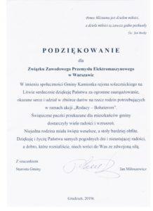 Rodacy bohaterom – podziękowanie dla ZZPE za pomoc kombatantom polskim na Litwie