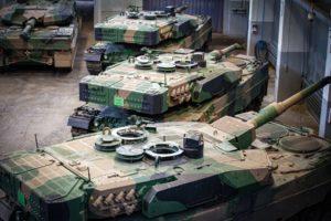 Leopardy po modernizacji w BUMARZE trafiły do wojska
